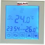 Heat Plus Сенсорный программатор теплого пола Heat Plus BHT-323GB sensor white